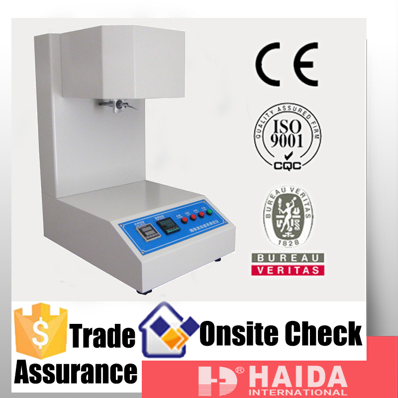 plastic melt flow index testing machine