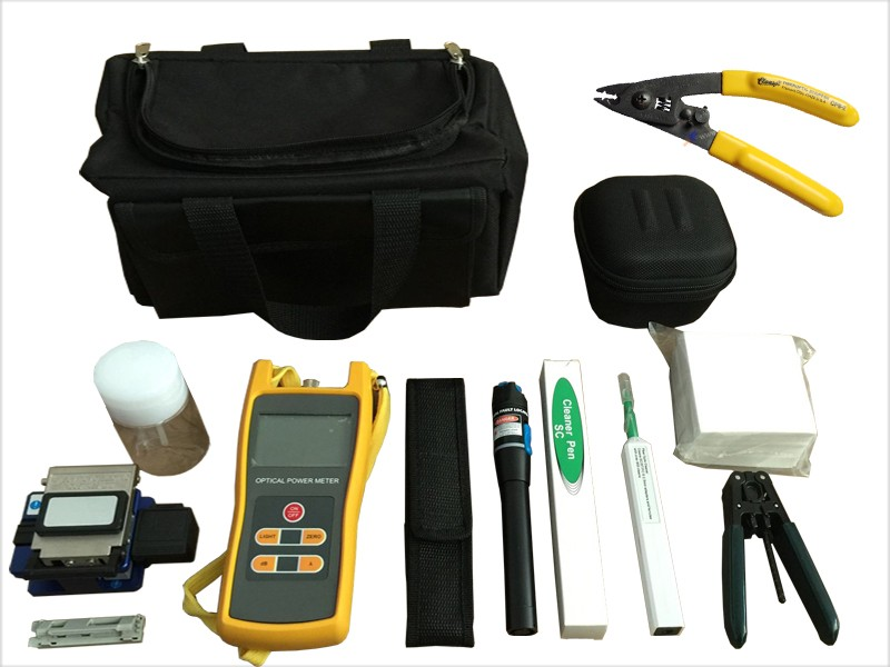 FTTH Fiber Optic Assembly Termination Tool Kit for Installing Drop Cable