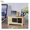 cheap Office accessories table organizer pen holder box