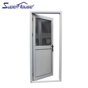 Superhouse Australia standard aluminum half glass french/casement door