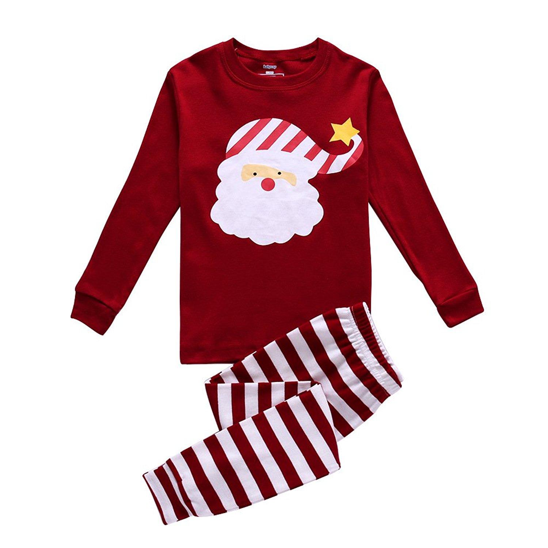 bc8fd7ccf201 Cheap Kids Santa Pajamas