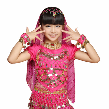 d2e848979fb679 Kid s girl s children Belly Dance top dance Costume beads coins top Blouses    Tops