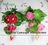 3 HEADS SJYBH013 plastic flowers real touch Lotus/Nelumbo nucifera/water lily