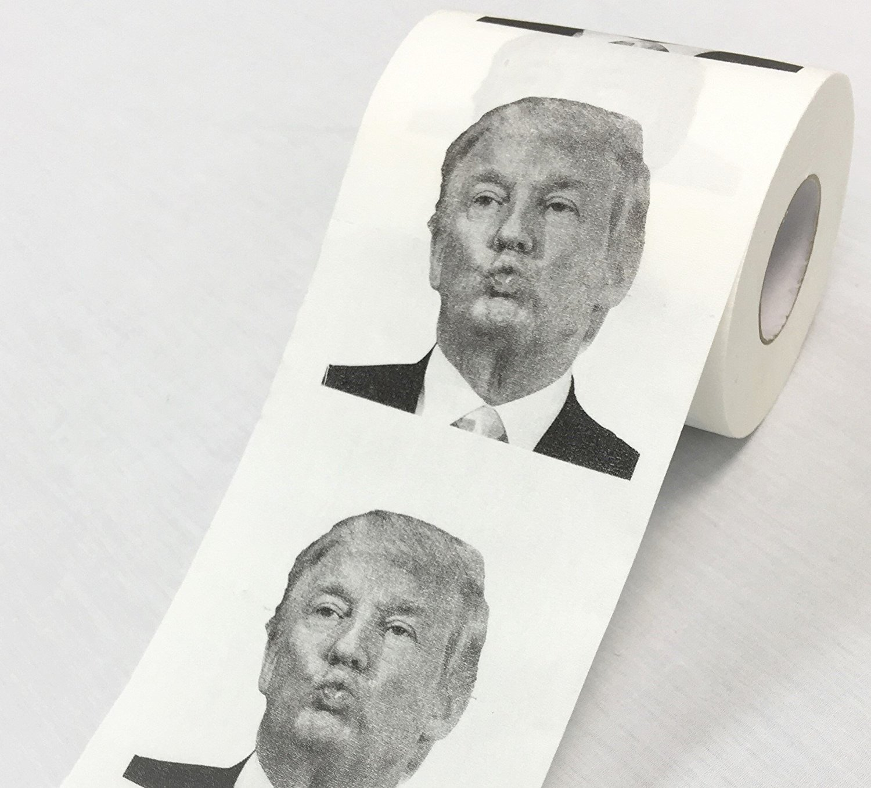 President Donald Trump Toilet Paper Roll ~ Gag Gift Prank Joke BigMouth Inc