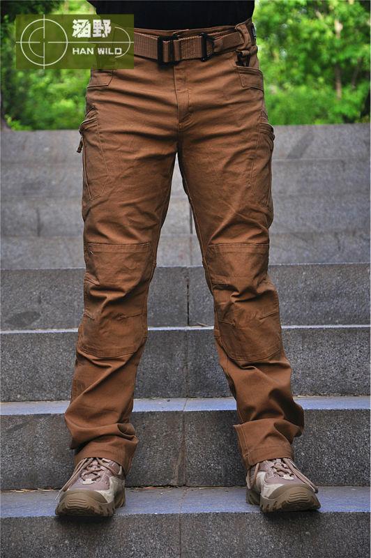 Тактические брюки спортивные брюки Militar OutdoorPants мужчин безопасности одежда боевых ударить обучение армия военные брюки туризм охота