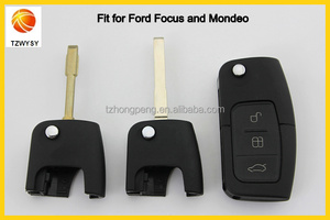 Factory Direct Original Replacement Remote Control 3 Buttons Flip Car Key Cover For Ford Focus Mondeo Key Shell