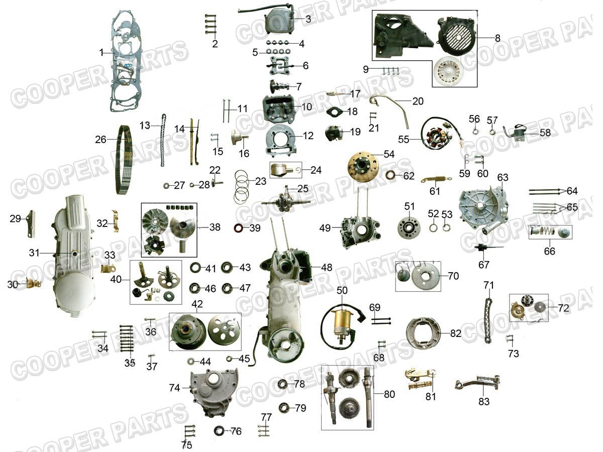 90cc Go Kart Wiring Diagram Gy6 Images Gallery