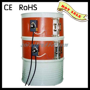 Custom Made flexible Silicone Rubber Oil Barrel/ Drum Heater