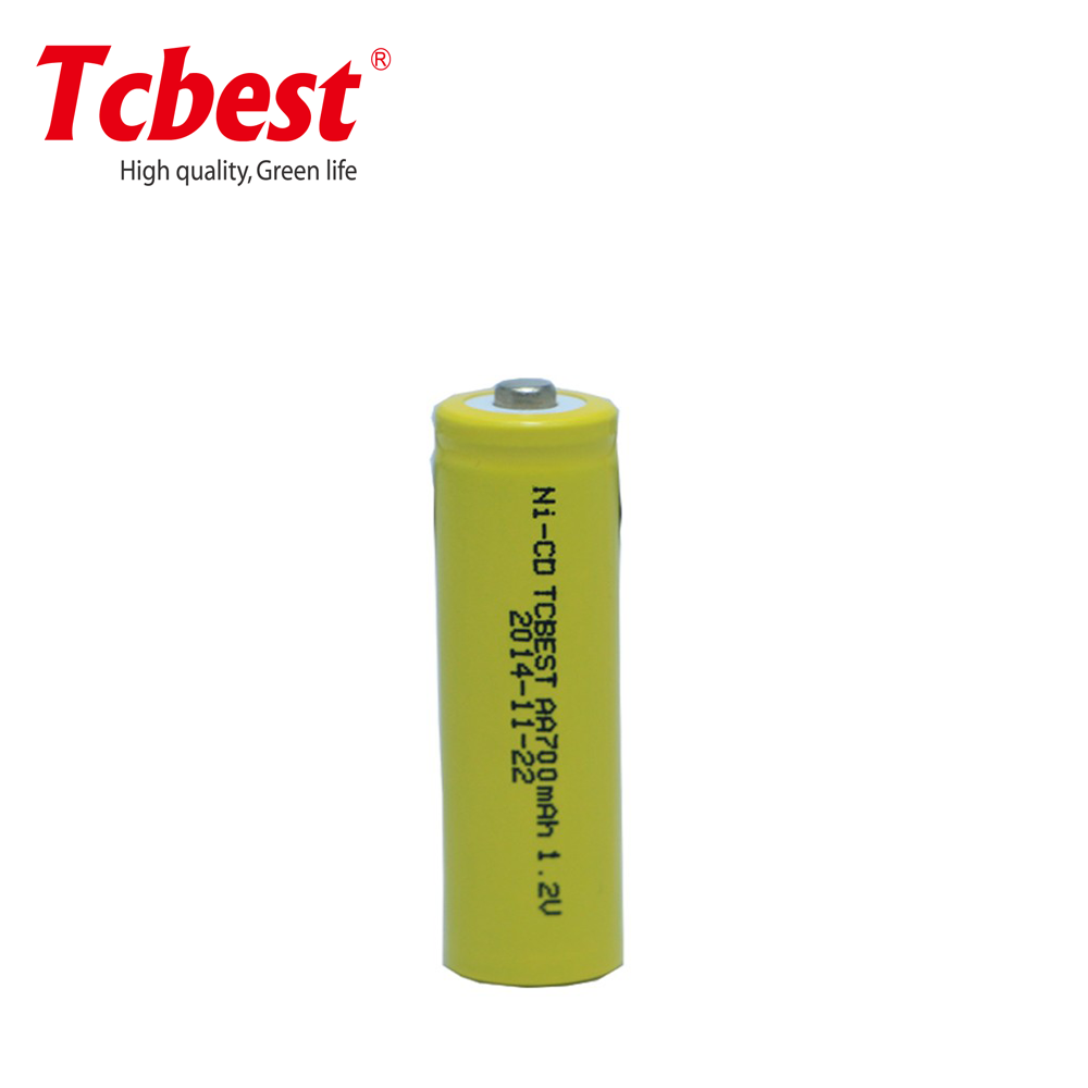 AA700 Rechargeable 1.2V 700mAH Ni--CDBattery Pack for Electric bicycles