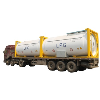 20ft container for sale 28.5ton ASME iso lpg gas fuel tank container