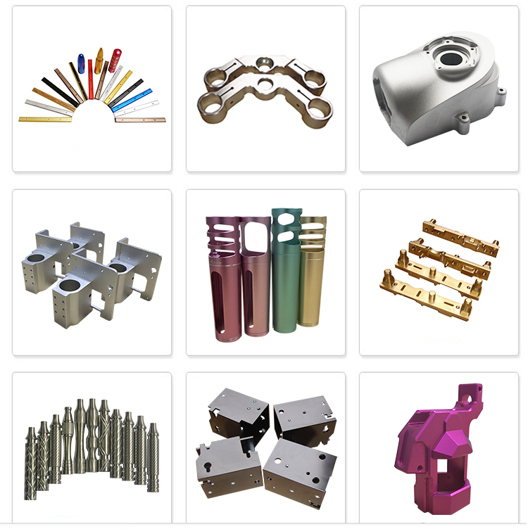 High Precision Powder Coating NYLON DIY CNC Machinery Spare Parts