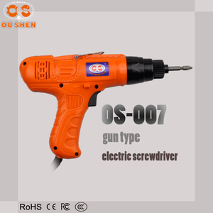 OS-007 gun type AC 220V electric screwdriver/drill machine for funiture assembly