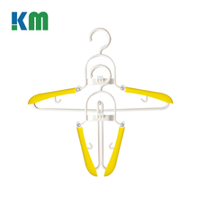 China Exports Upscale Multipurpose Expand Plastic Folding Clothes Hanger