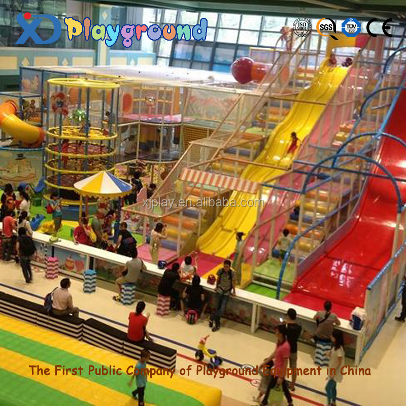 Kids Soft Play Indoor Play Structure Used Indoor Playground ...