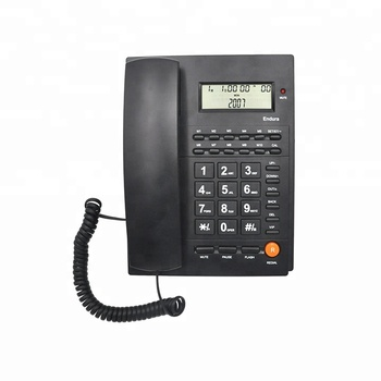 Shenzhen Competitive Price Caller ID Call Waiting Telephone with LCD Display for Office and Home Use