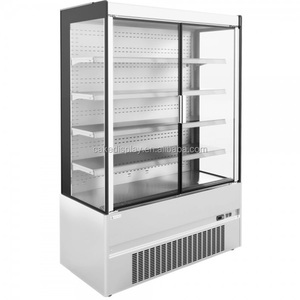 2018 New Model Refrigerated Produce Coke Display Cooler