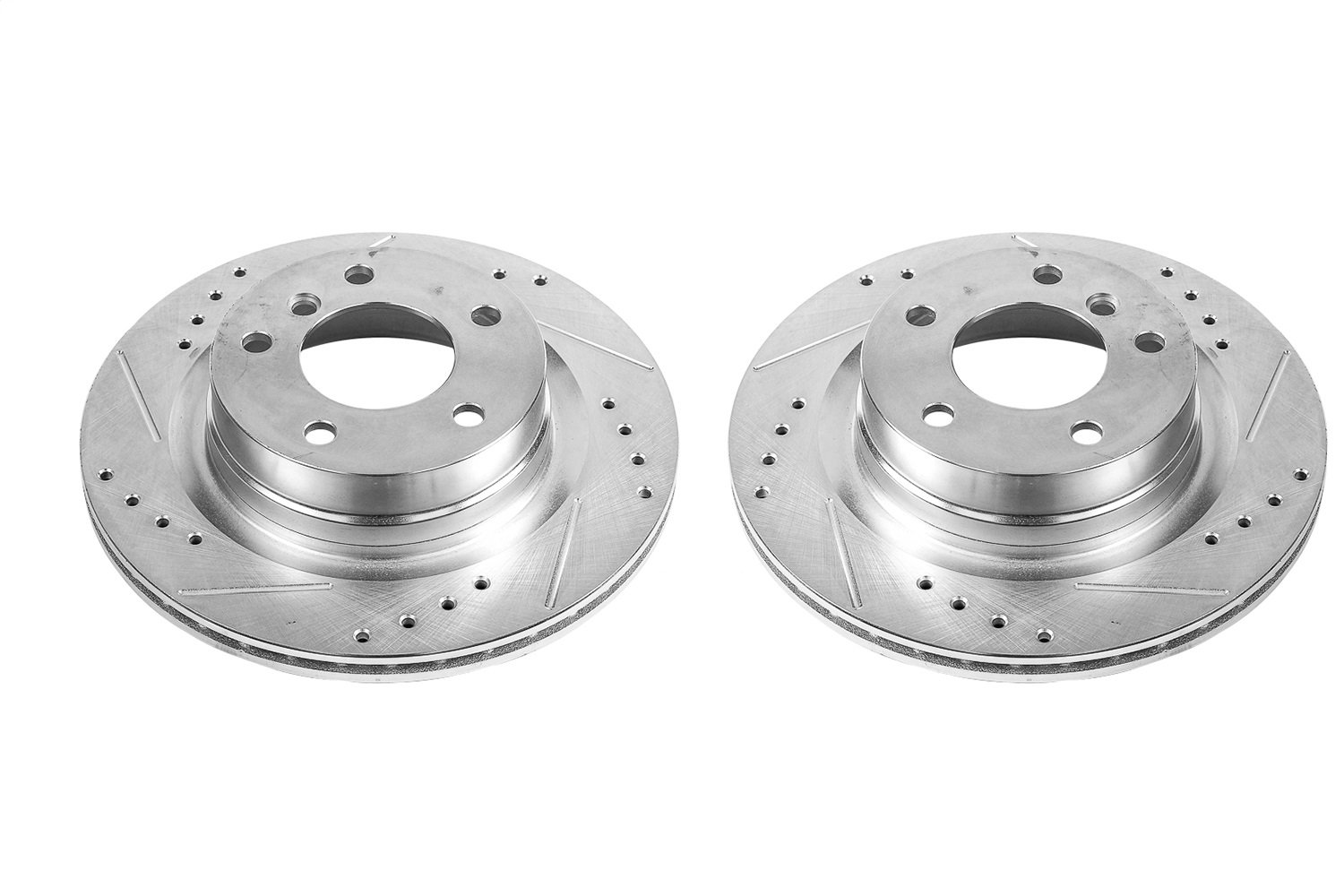 Power Stop JBR1584XPR Front Evolution Drilled /& Slotted Rotor Pair