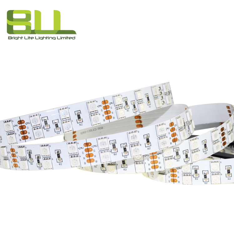 Customized Professional Micro SMD 5050 RGB LED Strip Light with 5M/Roll