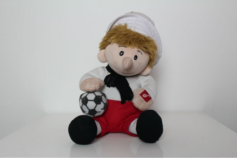 ASTM Test top quality soft plush stuffed baby boy toys