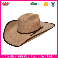 On Sale Cheap Palm Leaf Hat With Wide Brim