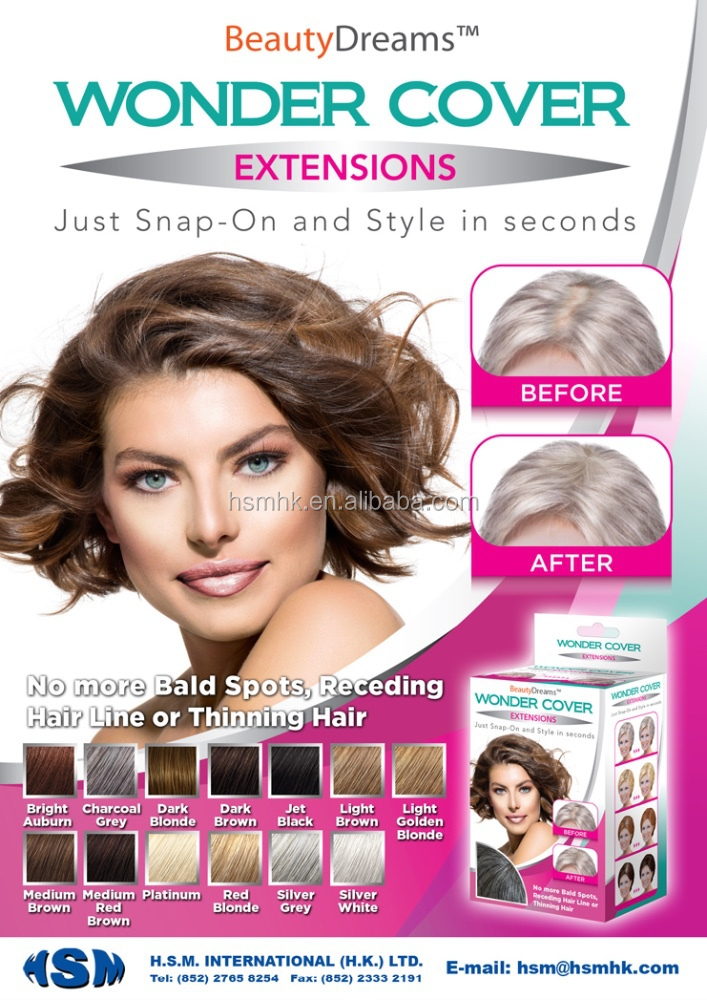 Secret Cover Hair Extension For Bald Spots Buy Secret Cover Hair