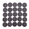 Promotional 25 Pcs Fiberglass Reinforced Metal Cut Off Wheel Disc w 2 Mandrel 1 8 For
