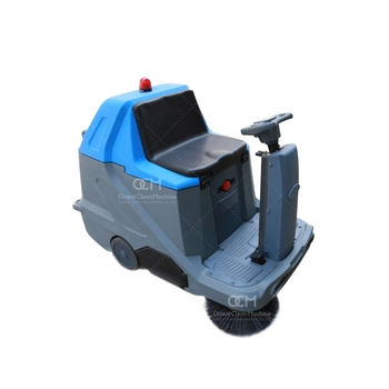 FL1000 Airport Cleaning Equipment Driveway Street Floor Cleaning Machine Electric Road Sweeper