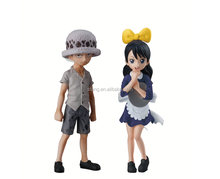 Shokugan One Piece Child Law and Baby/Luffy Action Figure