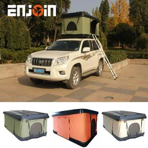 ENJOIN Outdoor 4x4 Roof Tent Universal Cars Trucks SUVs Hard Shell Roof Top Tent for Sale