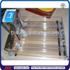 TSD-P012 retail store cosmetic product shelf pusher system,plastic display shelf divider and pusher,pusher trays