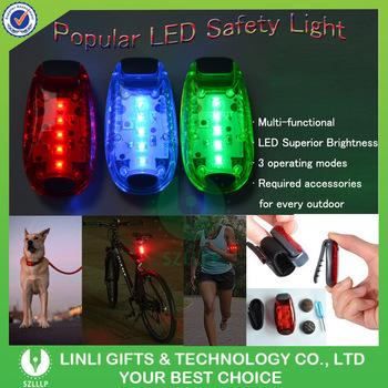 Battery Operated Flashing Led Safety Light Hyper Brite Strobe Clips Running  Light Reflective Gearl Led Strobe