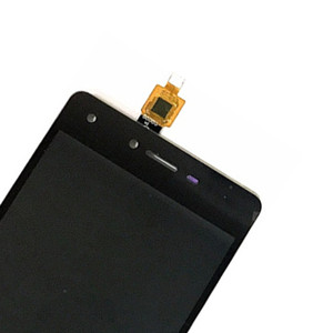 High Quality For Tecno L8 Lite LCD Display+Touch Screen Digitizer Assembly  with Frame Black Color
