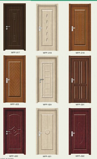 Top Sale Pvc Toilet Door Pvc Bathroom Ontime