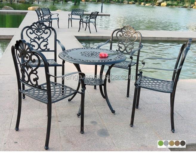 Beautiful juegos de jardin fundicion de aluminio for Aluminio productos de fundicion muebles de jardin