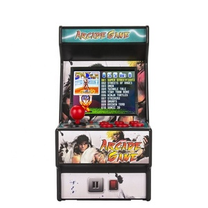 Wolsen 16 Bit Mini  Arcade Retro video game portable TV handheld game console  built in 156 games for sega