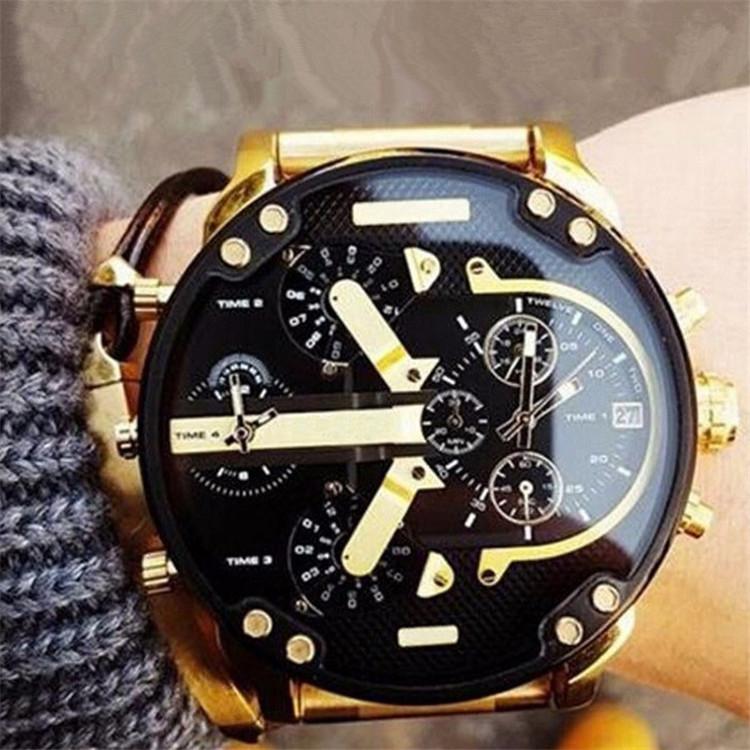 2019 Customs Wholesales DZ73 watch man clock leather OEM luxury bracelet watches men Factory price fashion watch