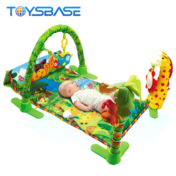 Baby Crawling Mat Toy-hot Selling Play Gym Forest Carpet With Music For Babies - Buy Musical Babies,Play Baby,Play