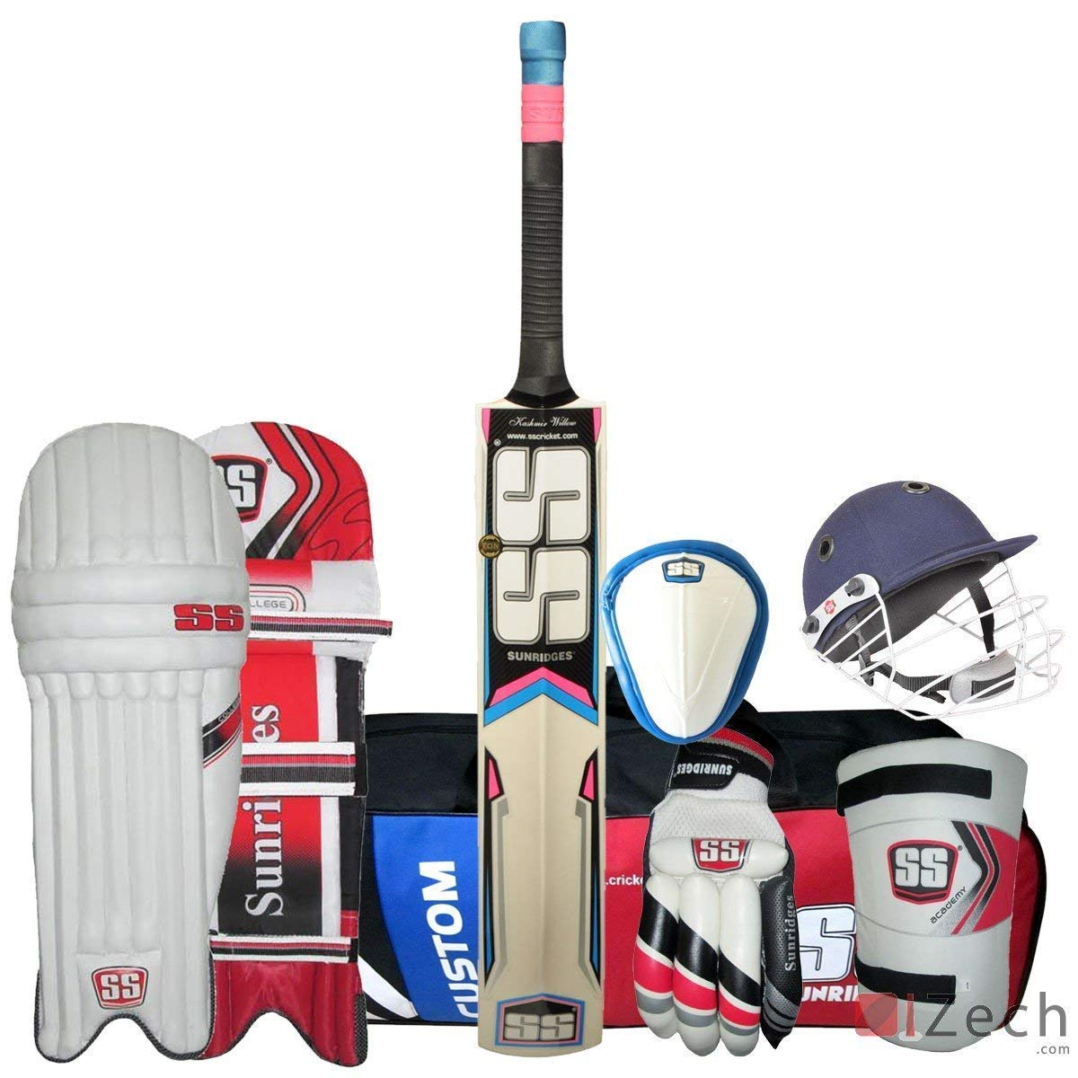 SS Economy Complete Cricket Kit Mens Size Kashmir Willow Bat Fast DELIVERY