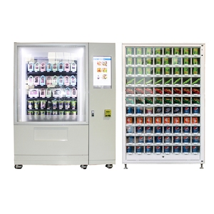 Bread hot food sandwich automatic japan OEM vending machine for subway station shopping mall school