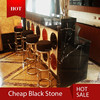 high quality black marble for countertop