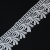 Vogue african bridal lace cuff collar trims fabric stretch lace