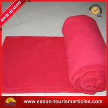 satin edge blanket popular coral fleece blanket wholesale woven throw blanket