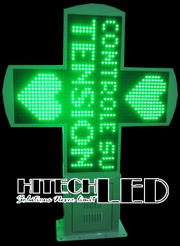 80x80 LED cross,LED pharmacy cross display