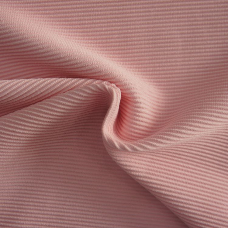 High elastic ribbed nylon spandex lycra swimsuits bikini swimwear fabric