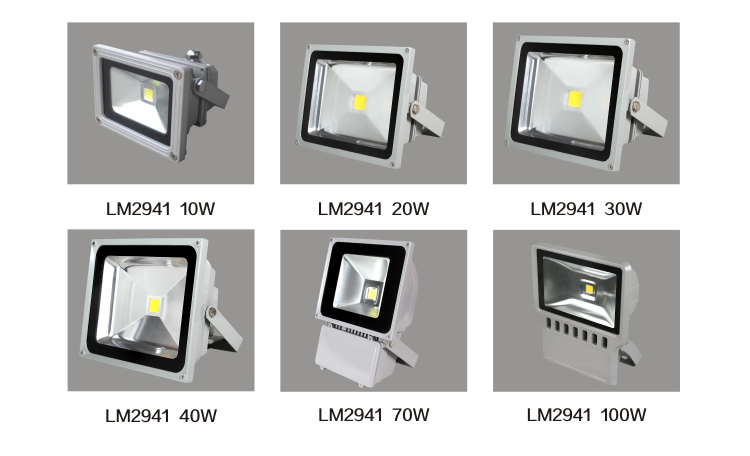 product-Leimove-High quality Rohs approved ip65 outdoor use 10w 50w 70w 100w led flood light-img