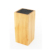 Kitchen Bamboo Wood Universal Knife Block Holder Stand Without Knife
