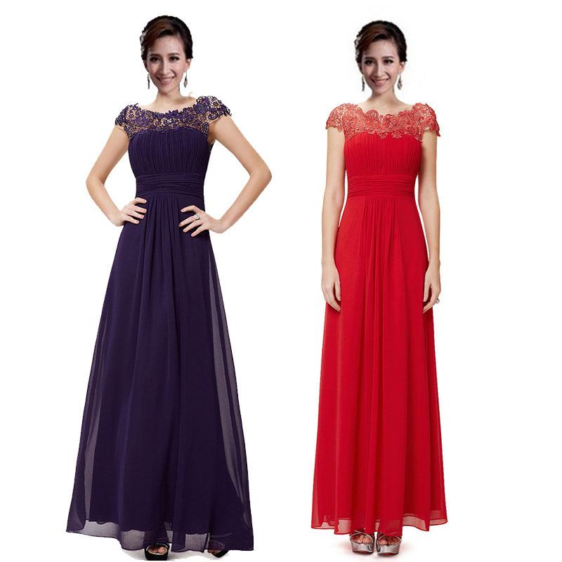 04060350c84 Get Quotations · 2015 Hot New Designer Purple Red Blue Lace Appliques  Elegant Vestidos Sexy Open Back Long Formal