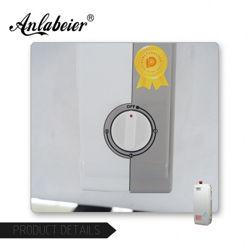5s heating small size 5500w instantaneous new instant electric hot shower water heater for kitchen