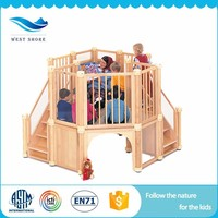 commercial kids indoor jungle gym wooden furniture