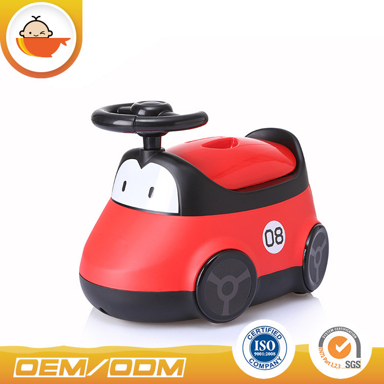 2017 new design baby potty car shape potty trainer